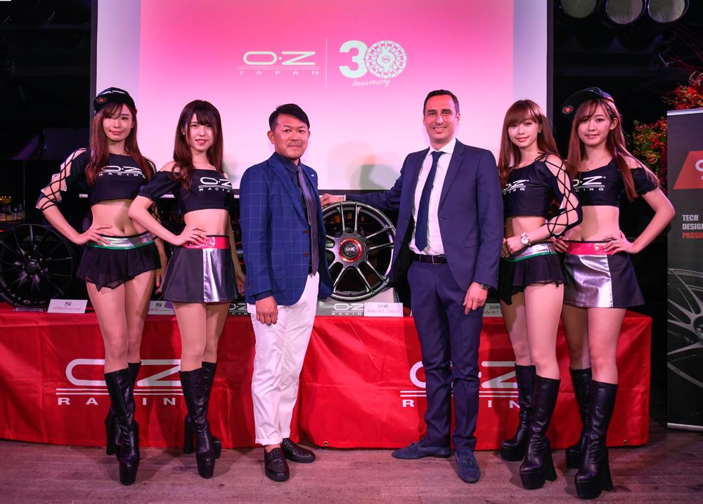 【イベント】OZレーシング新作ホイール発表